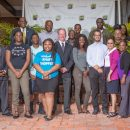 Stakeholders at ceremony to mark the establishment of the Anderson Endowment at UVI