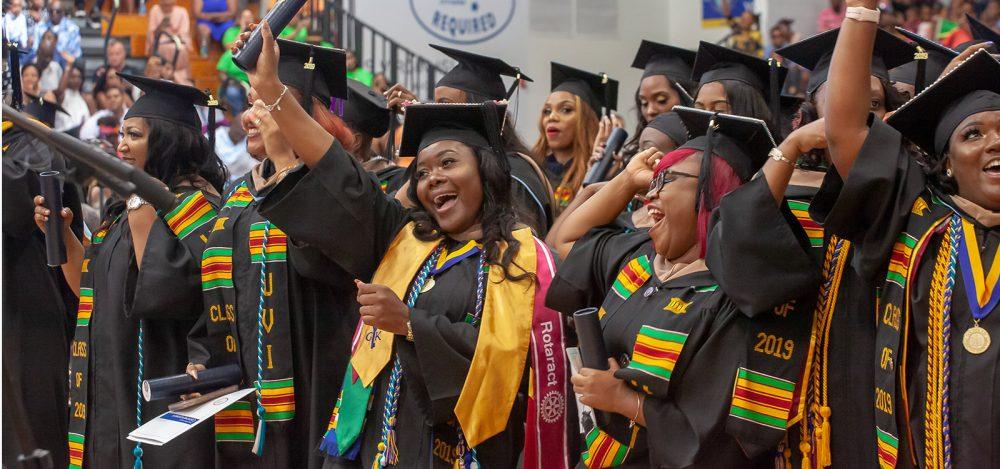 Happy UVI Graduates