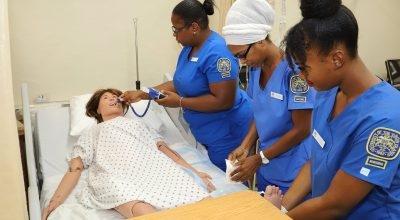 UVI Nursing Students