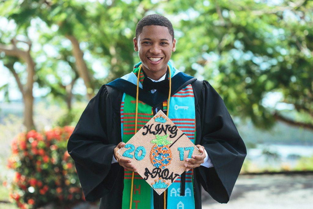 Aron Gumbs, 2017 alumnus
